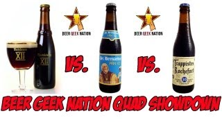 Wesvletern 12 vs. Rochefort 10 vs. St. Bernardus 12 | Beer Geek Nation Craft Beer Reviews