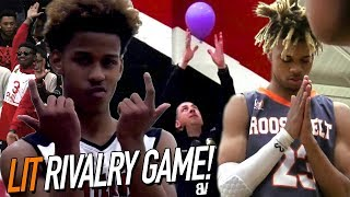 DJ Davis Shows Off NASTY Layup Package! LIT Rivalry Game Goes To FINAL SECONDS + Cop SAVES BALLOON!