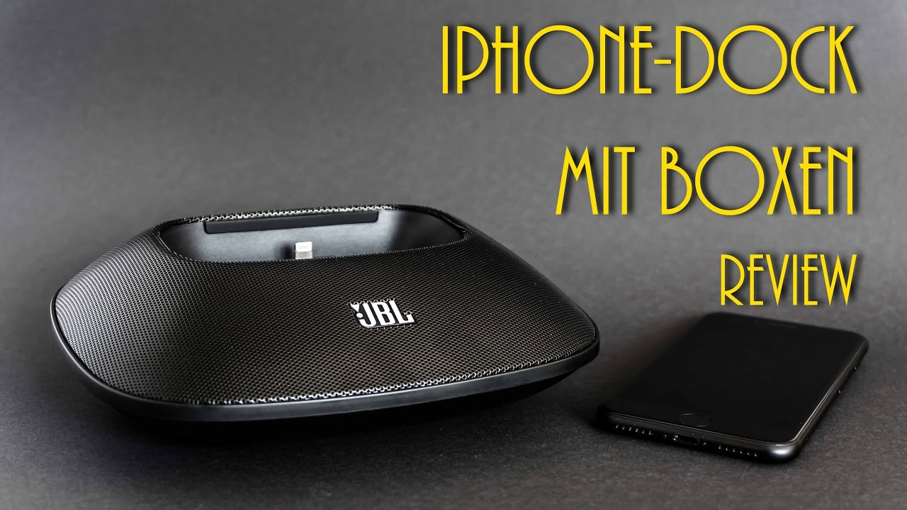 new concept ad059 36c4e JBL Onbeat Micro | iPhone Dockingstation | Review