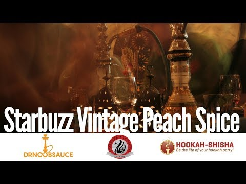 STARBUZZ TOBACCO | VINTAGE PEACH SPICE | NU STRONG MINT  | HOOKAH REVIEW