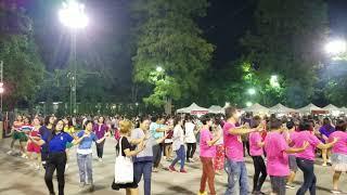Chiang Rai Walking Street Dance Party