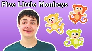 Five Little Monkeys and More | Learn to Count | Back to School with Mother Goose Club!