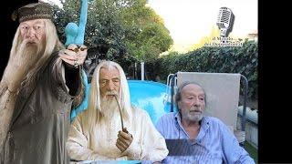 GIANNI MUSY parla del doppiaggio di Gandalf e Albus Silente (2011) | enciclopediadeldoppiaggio.it