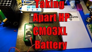 Disassembling the HP CM03XL Lithium Battery  4250mAh 11.4v 50Wh KmanEnergy