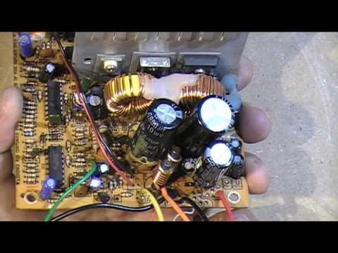 تحويل باورسابلاي كمبيوتر الي فولت متغير    Changing PC Power Supply to Variable Voltage