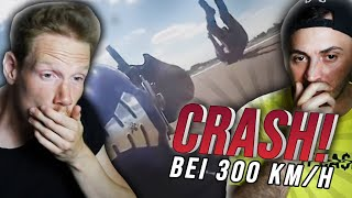 CRASH bei 300 KMH?! | Reaction mit David Bost