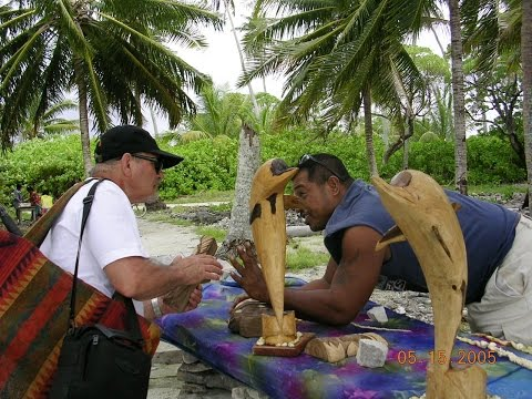 Napali Beach of Fanning Island