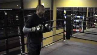 Roy Jones Jr Fight Week Monday Work Out