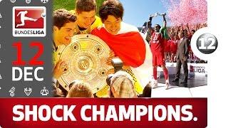 Top 5 Unexpected Bundesliga Champions - Bundesliga 2016 Advent Calender 12