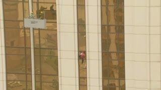 French Spider-Man resorts to suction cups for climb in Macau