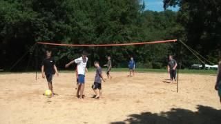 Volley au camping du Val de Landrouet - Bretagne