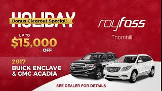 Buick Enclave and GMC Acadia