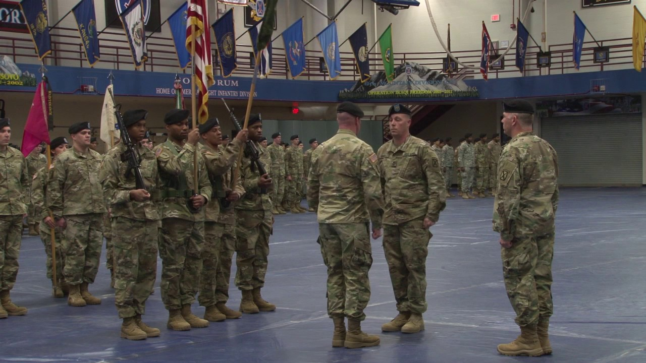 548th CSSB Color Casing Ceremony
