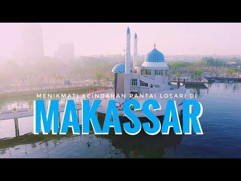 Menikmati Indahnya Pantai Losari Di Makassar