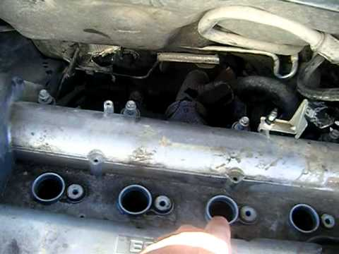 removing the cylinder head on the cobalt mp4