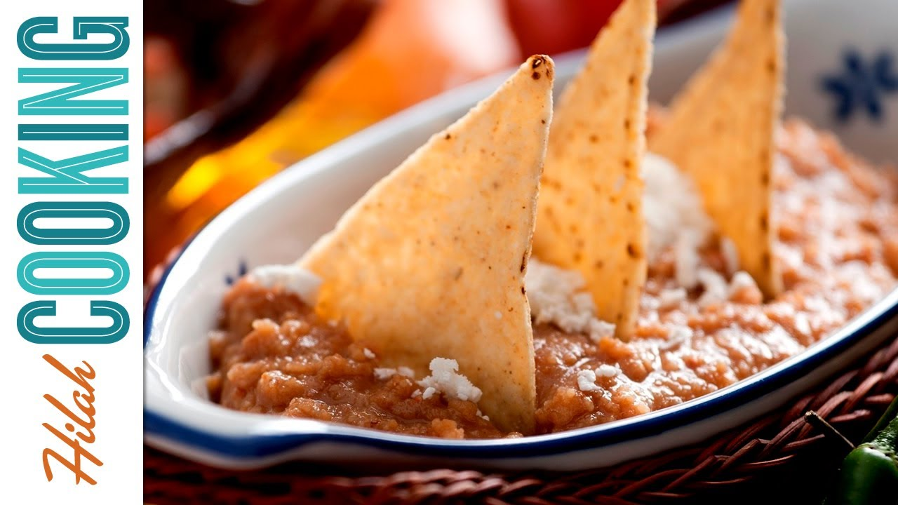Refried Beans Recipe - How To Make Refried Beans (Frijoles Refritos ...