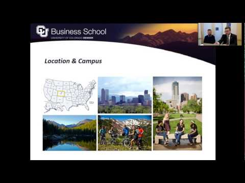 [Online Webinar] Discover Your Business Degree Options at the University of Colorado Denver