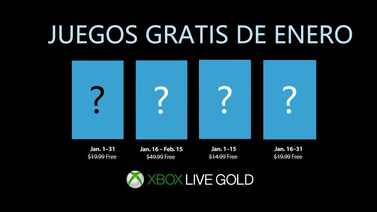 Xbox Live Gold Enero 2019 Juegos Gratis Youtube