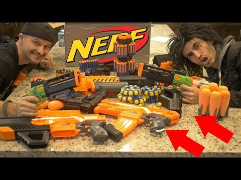 $1,000 NERF Mod Package!