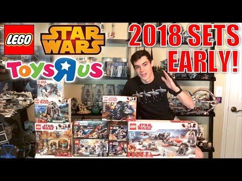 BUYING LEGO Star Wars 2018 Sets EARLY At ToysRUs!   LEGO Vlog!