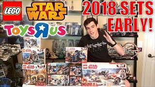 BUYING LEGO Star Wars 2018 Sets EARLY At ToysRUs! | LEGO Vlog!