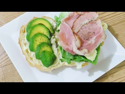 How To Make Bacon And Avocado Croissant Sandwich - DIY Food & Drinks Tutorial - Guidecentral