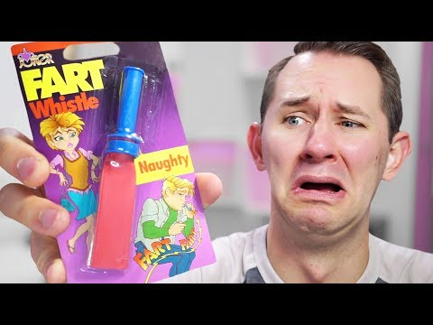 Thumbnail: Fart Whistle?! | 10 Ridiculous Amazon Products