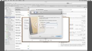 Setup CardDAV on Mac OS X