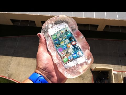 Thumbnail: Can Liquid Glass Putty Protect iPhone SE From 100 FT Drop Test? - GizmoSlip