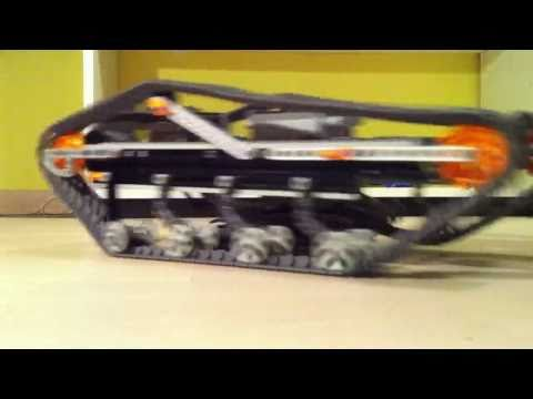 LEGO Caterpillar Tank with Power Functions