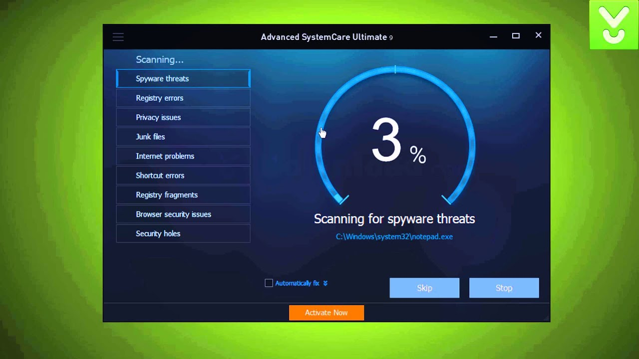 Advanced systemcare 9 100% working license code.