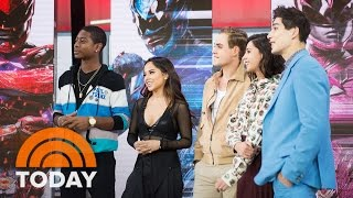 Meet The Young Stars Of 'Saban's Power Rangers' | TODAY