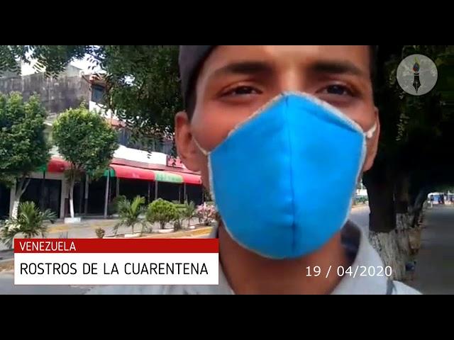 Rostros de la Cuarentena en Venezuela