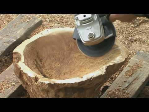 Bowl for fruit made of wood and epoxy. Ваза для фруктов из дерева и эпоксидный смолы.