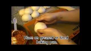 How To Make Baked Manapua (cha Siu Bao)