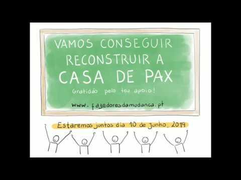Vamos juntos reconstruir a Casa de Pax?