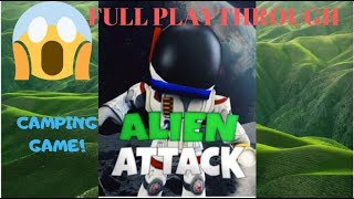 👽 Alien Attack👽 - Full Playthrough {Camping Game} l ROBLOX