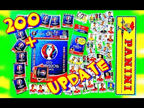 ⚽ PANINI Sticker UEFA Starter Pack new Hard - Cover Album FRANCE EURO 2016 OFFICIAL ⚽ video LuckyBag
