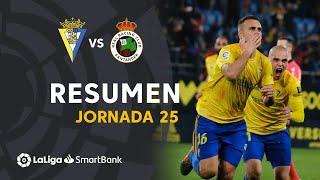 Resumen de Cádiz CF vs Real Racing Club (1-0)