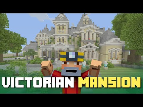 Minecraft Xbox One: Victorian Mansion Tour! (Finished Let's