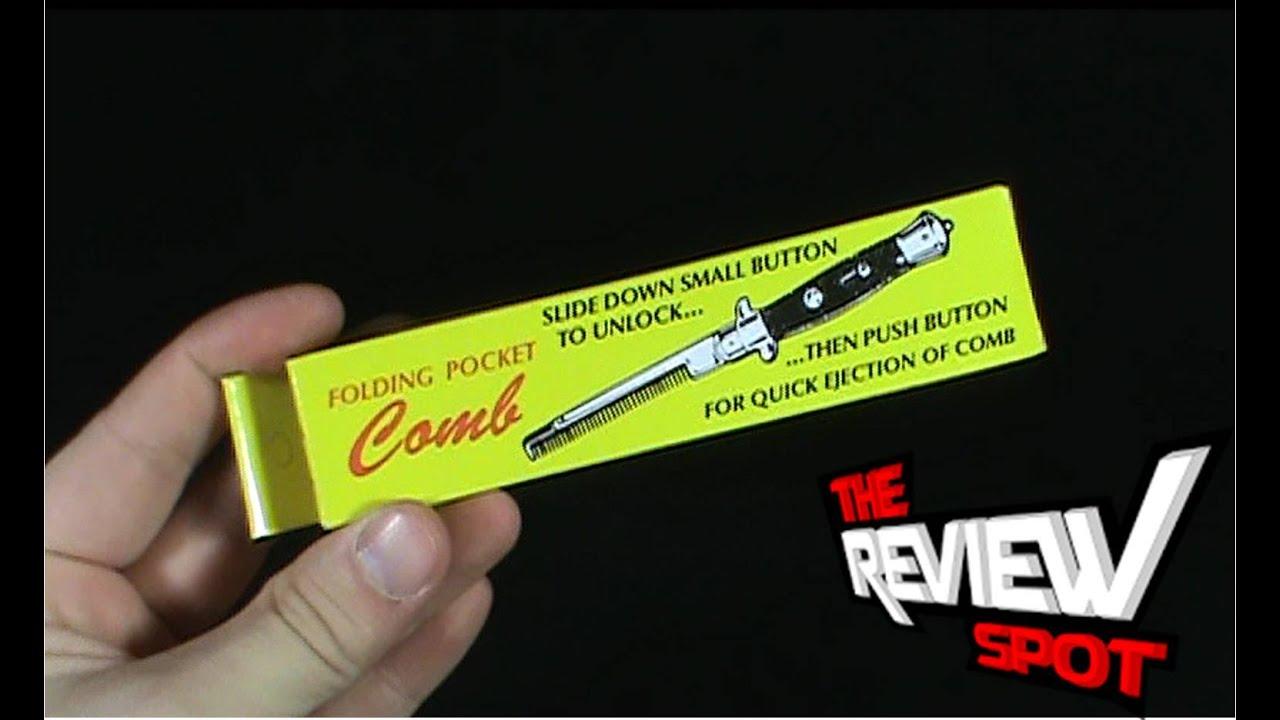 Random Spot - Folding Pocket Comb