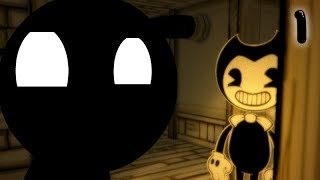Stickman Vs Bendy and the Ink Machine, Chapter 1 in a nutshell | Animation