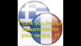 """The French Recipe """"tartiflette"""" In Our School - Etwinning Project """"eclil4you In Action"""""""