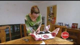 How To Re-cover A Footstool - With Kathryn Rayward