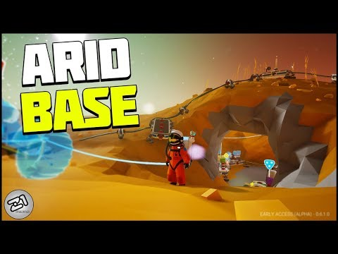 Going to ARID Planet! Lithium, Shuttle Changes! Astroneer Base Building Update E5 | Z1 Gaming