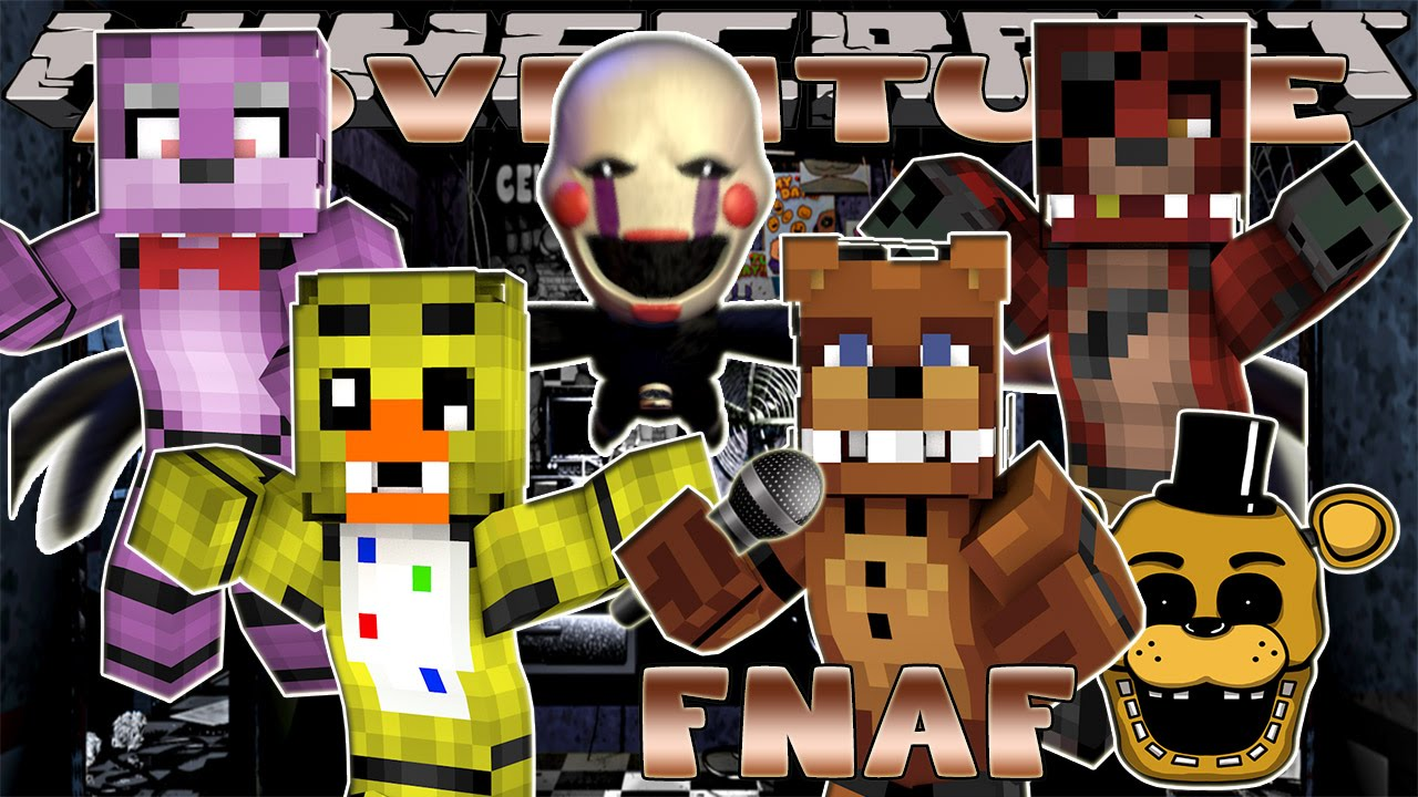 Minecraft - Little Donny Adventures-FIVE NIGHTS AT FREDDY'S CHRISTMAS VACATION - NIGHT #5 w/ Donut