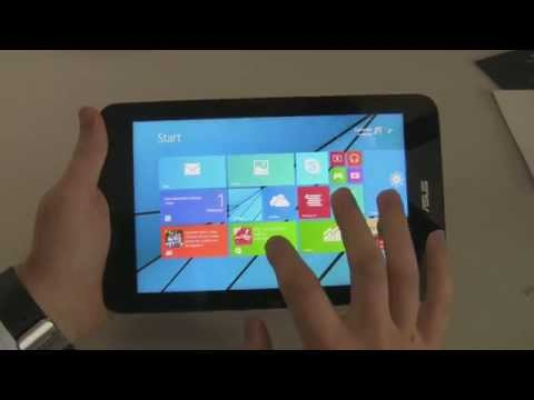 Windows 10 Overview on the Vivotab Note 8!
