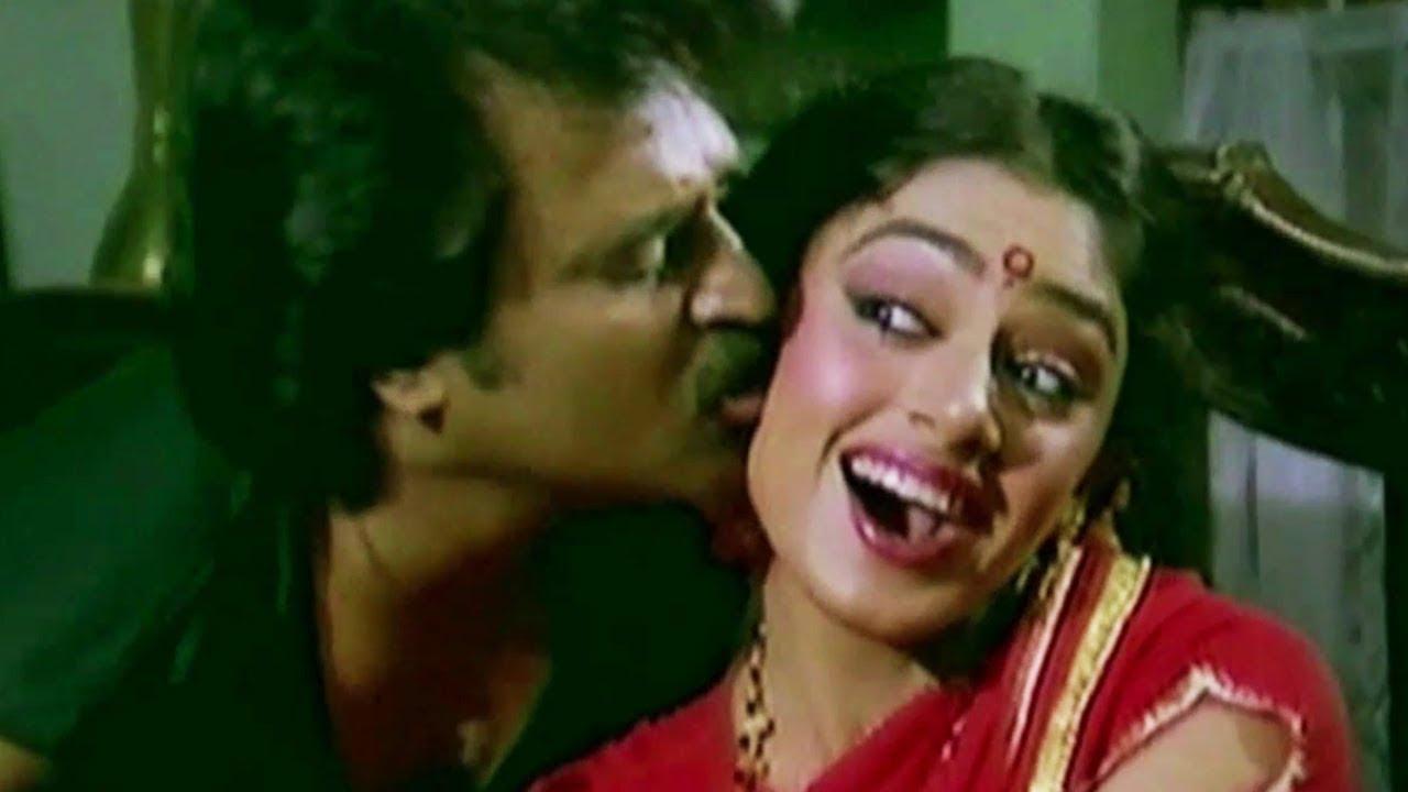 Shobana Wants Kiss From Rajinikanth Siva Tamil Movie Part 5