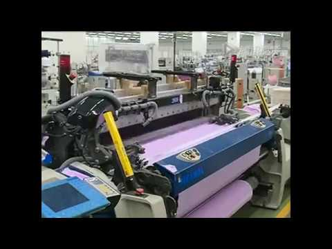 Automated textile production lines