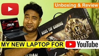 Best Laptop for Youtubers in 2019 | High End Editing & Gaming by ASUS i7 8th gen
